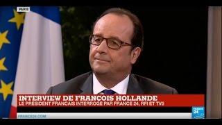 Download REPLAY - Interview exclusive de François Hollande Video