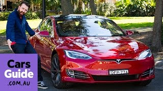 Download Tesla Model S P90D 2016 review | road test video Video