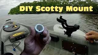 Download DIY Scotty Mount from PVC Video