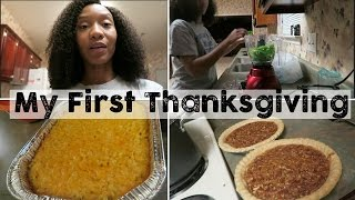 Download My First Thanksgiving Cooking | Thanksgiving 2016 Video