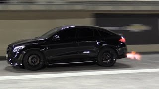 Download Mercedes-AMG GLE63s RS800 PP Performance - BIG FLAMES & 1/4 Mile Drag! Video
