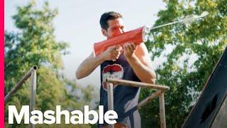Download This Water Gun Reloads Itself Video