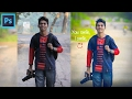 Download Photoshop Tutorial | Change Background | Face Retouch & Mixing Color Grading Video