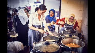 Download Meghan Markle backs Grenfell community cookbook - 5 News Video