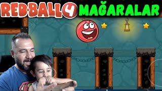 Download REDBALL 4 MAĞARALAR!   KIRMIZI TOP OYNUYORUZ Video