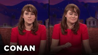 Download Claudia O'Doherty Is An Unemployed & Versatile Actress - CONAN on TBS Video