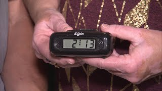 Download Alarm Clock Has Been Stuck in Family's Wall for 13 Years Video