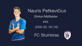 Download Nauris Petkevičius #45 highlights HD Video