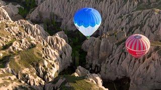 Download Cappadocia, Turkey: Hot-Air Balloon Ride Video