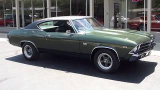 Download 1969 Chevrolet Chevelle SS $36,900.00 Video
