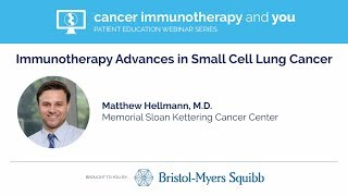 Download Immunotherapy Advances in Small Cell Lung Cancer Video