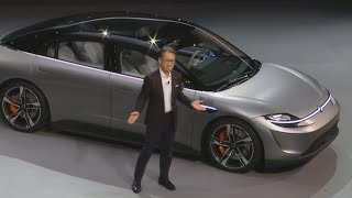 Download See Sony's Vision-S car concept at CES 2020 Video