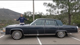 Download The 1989 Cadillac Brougham Is the Best Cadillac From 30 Years Ago Video