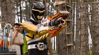 Download Power Rangers Dino Charge - True Black - Dino Armor X Mode Training Video