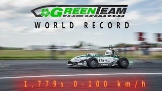 Download GreenTeam - World Record - 0-100km/h - 1,779s Video