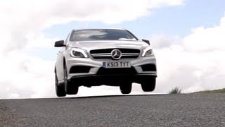 Download Mercedes A45 AMG v BMW M135i on Road and Track - /CHRIS HARRIS ON CARS Video