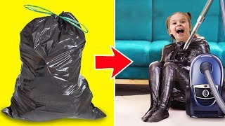 Download 25 CRAZY CRAFTS WITH PLASTIC BAGS Video
