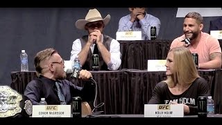 Download Conor McGregor to Chad Mendes: ″You Hit the Deck Like a B-tch!″ Video