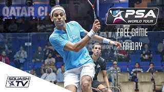 Download BEST SQUASH GAME EVER?! - Free Game Friday - ElShorbagy v Farag - Qatar 2017 Video