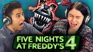 Download FIVE NIGHTS AT FREDDY'S 4 (REACT: Gaming) Video
