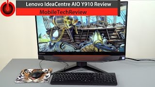 Download Lenovo IdeaCentre AIO Y910 Review - the Gaming All in One with GTX 1080 Video