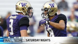 Download Recap: Dante Pettis' record night lifts Washington football over Fresno State Video