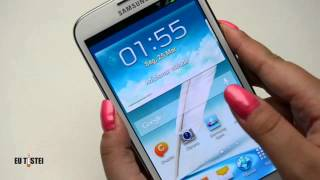 Download Phablet Samsung Galaxy Note II N7100 - Resenha Brasil Video