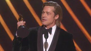 Download Watch Brad Pitt Thank His Kids During 2020 Oscars Speech Video
