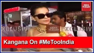 Download Why Are Karan & Shabana Silent? Kangana Ranaut Questions Bollywood A-Listers #MeTooIndia Video