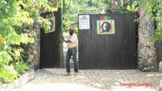 Download Bob Marley's house and mausoleum in the village of Nine Miles, Jamaica. Video