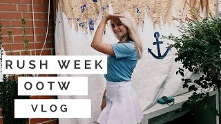 Download SORORITY RECRUITMENT OUTFITS + RUSH WEEK VLOG Video