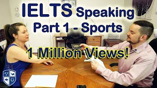 Download IELTS Speaking Part 1 Sports Band 8 - with subtitle Video