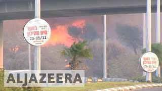 Download Israel: Thousands ordered to leave after massive fires hit Haifa Video