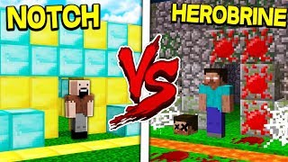 Download NOTCH HOUSE VS HEROBRINE HOUSE! - MINECRAFT Video