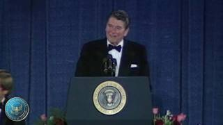 Download President Reagan's Remarks at the Annual White House Correspondents Association Dinner Video