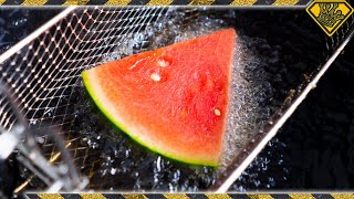 Download Is It a BAD IDEA to DEEP FRY Watermelon? Video