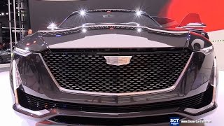 Download 2018 Cadillac Escala Concept - Exterior Turnround - Debut at 2016 LA Auto Show Video