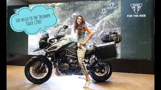 Download How do I ride this tall+heavy adv tourer? | Triumph Tiger 1200 Launch in Delhi Video