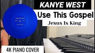 Download Kanye West - Use This Gospel (feat. Clipse) | Piano Cover ( Jesus Is King ) Video