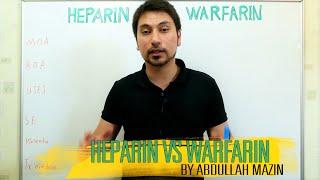 Download مقارنة بين الهيبارين و الوارفرين Heparin Vs Warfirin (عبدالله مازن) Video