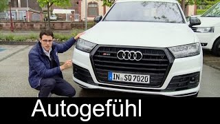 Download The best SUV? Audi SQ7 TDI 435 hp V8 FULL REVIEW test driven & Sound new neu Video