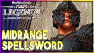 Download A NEW WAY TO PLAY - HoS Midrange Spellsword Deck Guide 🗡️TES LEGENDS | The Elder Scrolls Legends Video