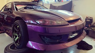Download Raketoplán Nissan 200sx s14,5 2JZ work #1 #KRSTDRFT drift lifestyle vlog #290 Video