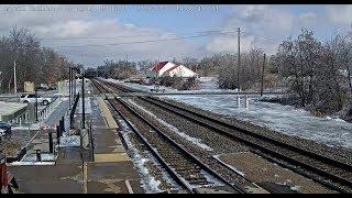 Download La Plata, Missouri USA - Virtual Railfan LIVE Video