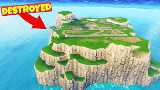 Download We DESTROYED SPAWN ISLAND in Fortnite Battle Royale Video