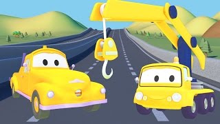 Download Tom The Tow Truck and the Crane in Car City  Trucks cartoon for children Video