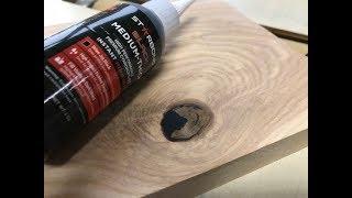 Download Filling Knots & Voids Super Fast! Starbond Black CA Glue EthAnswers Video