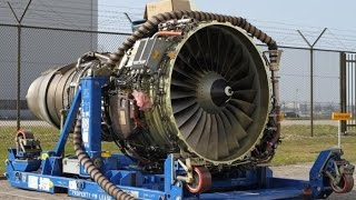 Download Big Aircraft Engines Starting Up Video