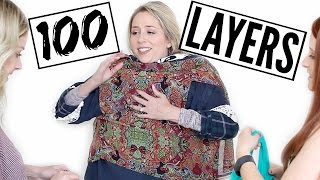 Download 100 LAYERS of Clothes Challenge + HUGE ANNOUNCEMENT! Video