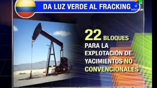 Download Colombia to use 'fracking' for oil extraction Video